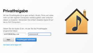 Privatfreigabe