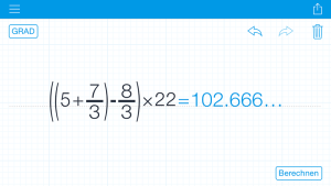 MyScript Calculator 4